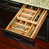 2 -Tiered Cutlery Drawer
