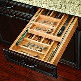 2 Tiered Cutlery Drawer with Blumotion Slides
